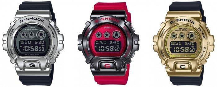 G-Shock GM-6900 Stainless Steel Metal Bezel