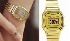 Casio Vintage Watch Gold..