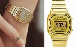 Casio Vintage Watch Gold..