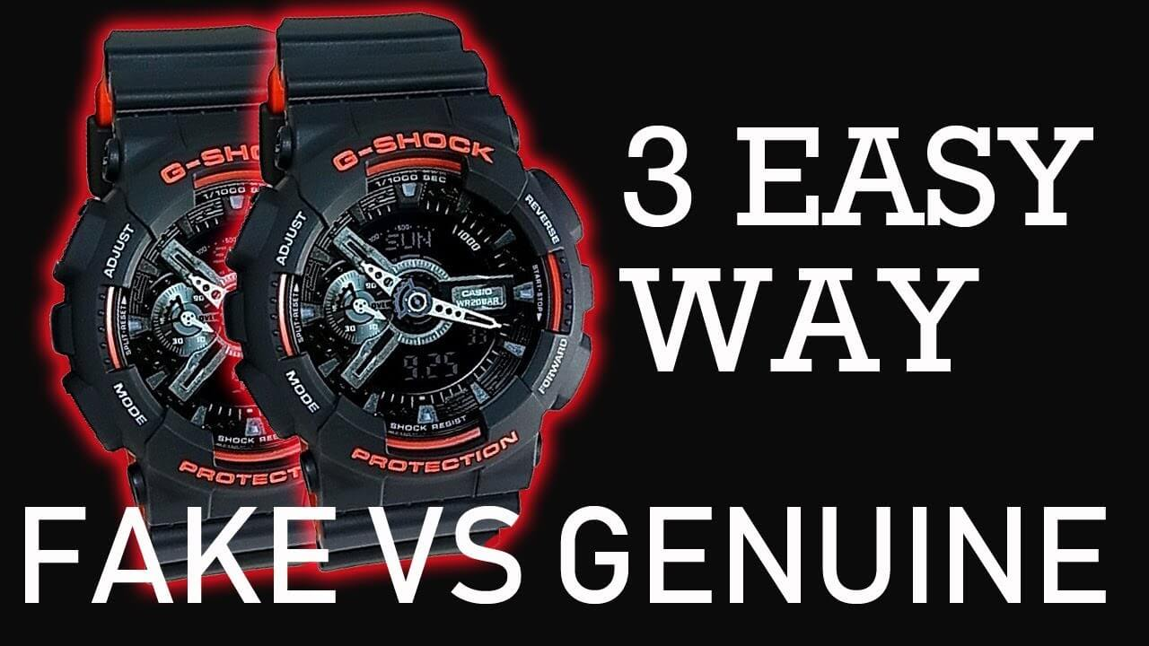how to spot fake g-shock