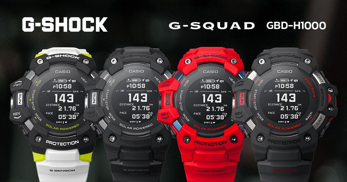 G-Shock  GBD-H1000 Heart Rate Monitor  Smart Watch