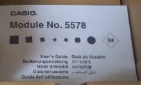 G-Shock Module Book