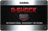 G-Shock Warranty Card