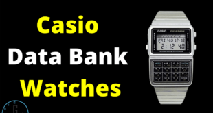 Casio data bank watch