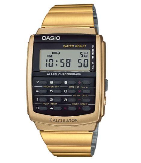 Calculator  Gold Watch