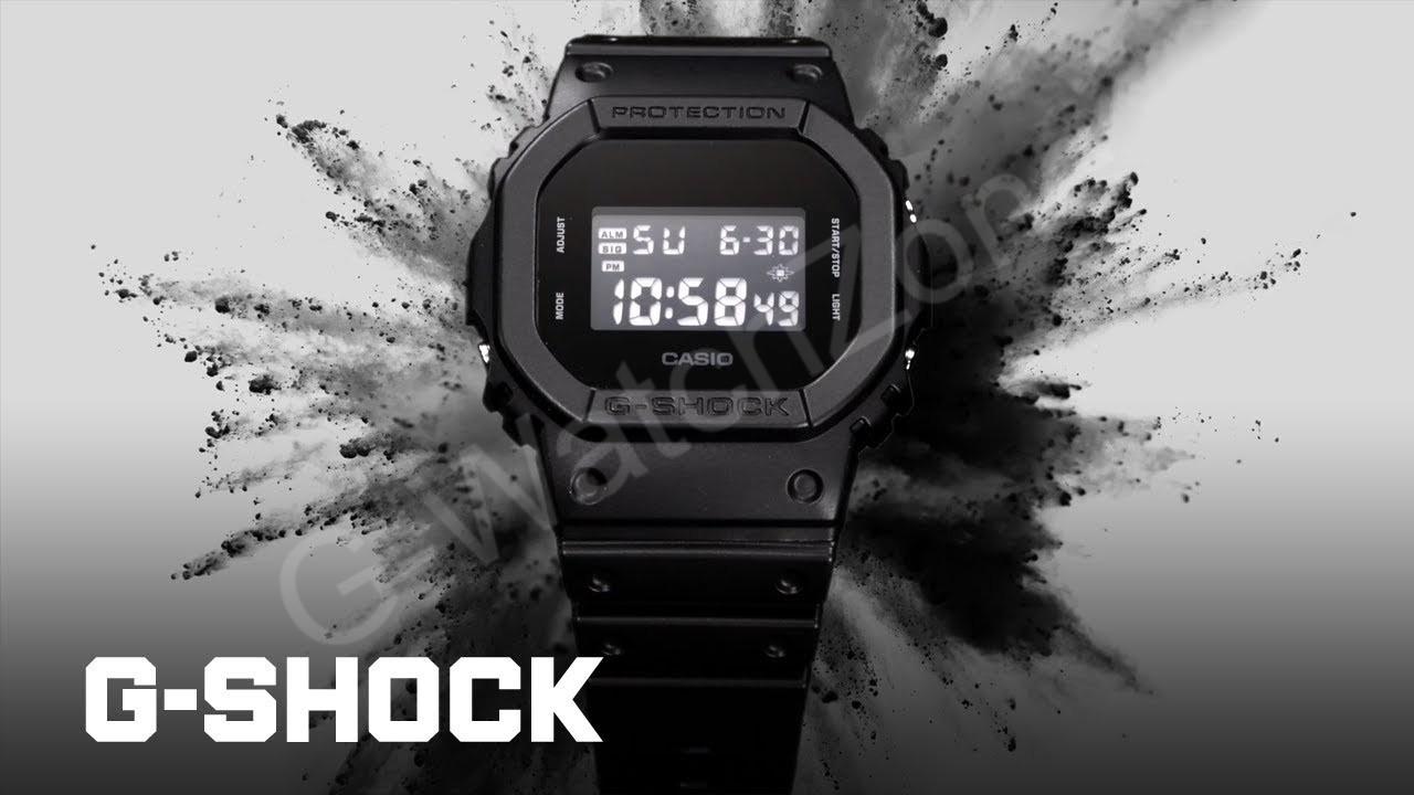 G- Shock DW-5600bb-1DR Black