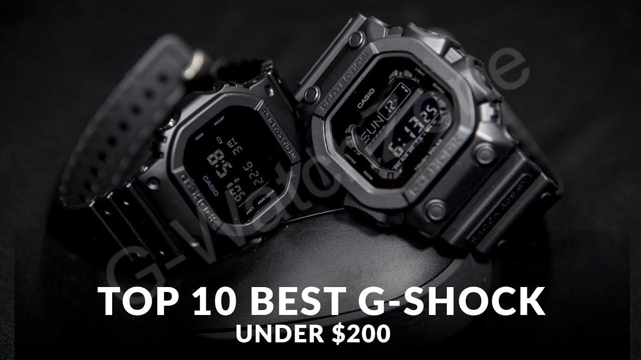 TOP 10 BEST CASIO G-SHOCK WATCHES OF 2020 UNDER $200