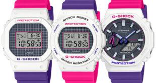 gshock pink watch