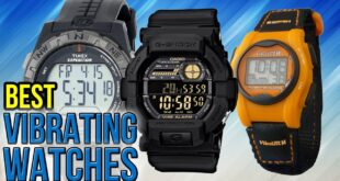 Vibrating alarm watches