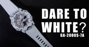 White G Shock Men's Watches