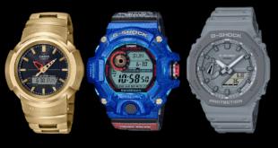 Casio G-Shock New Models 2020