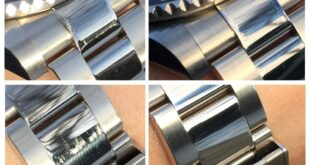 How to remove scratches from stainless steel watches