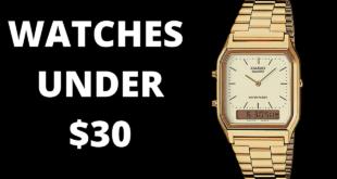 WATCHES UNDER $30