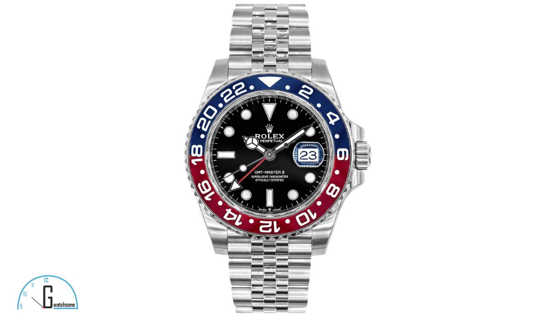 """Rolex GMT-Master II""""Pepsi"""" Men's Luxury Watch"""