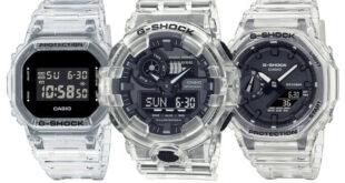 Casio G-Shock New Skeleton Series