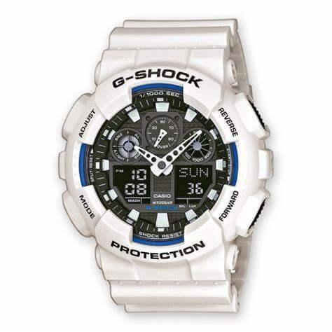 Casio G-Shock White Watches