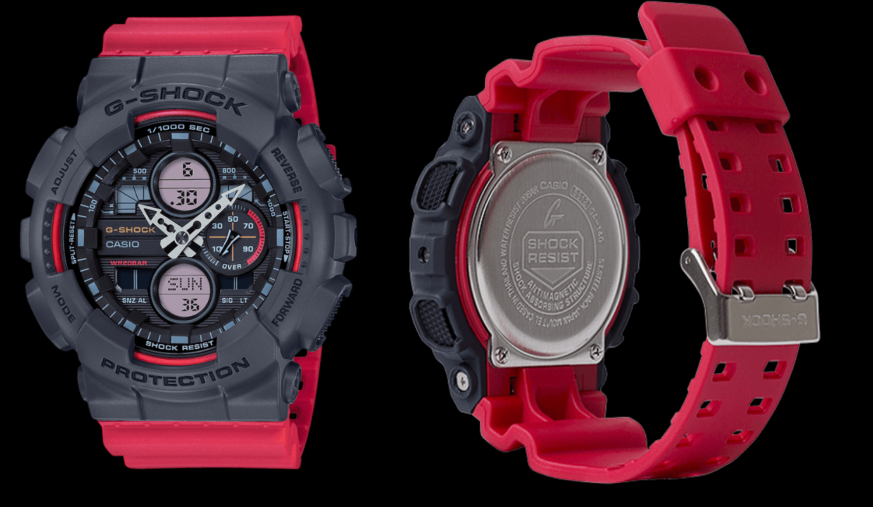 Casio G-Shock Red Watches for Men's