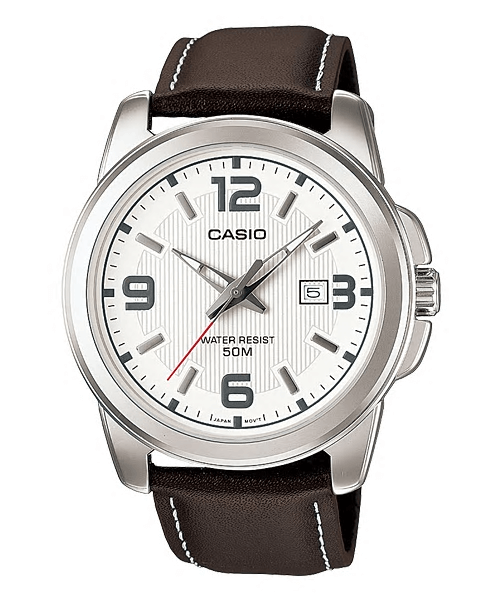 Casio Leather Strap Watches