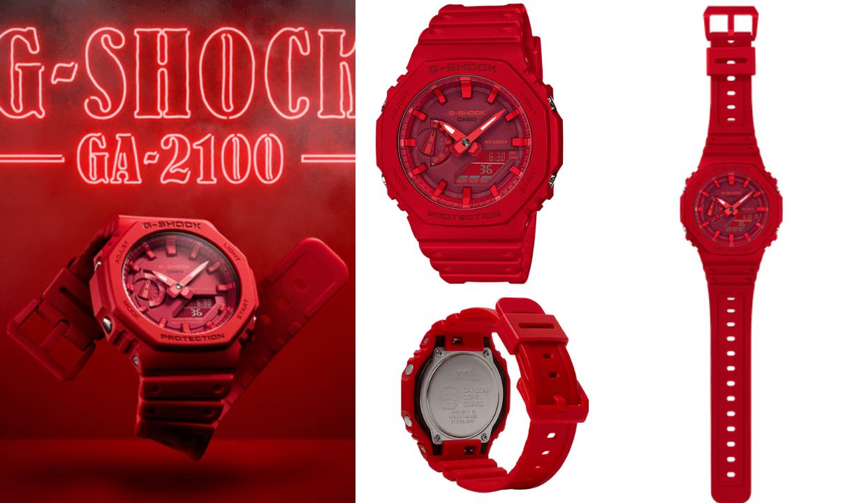 Casio G-Shock Red Watches