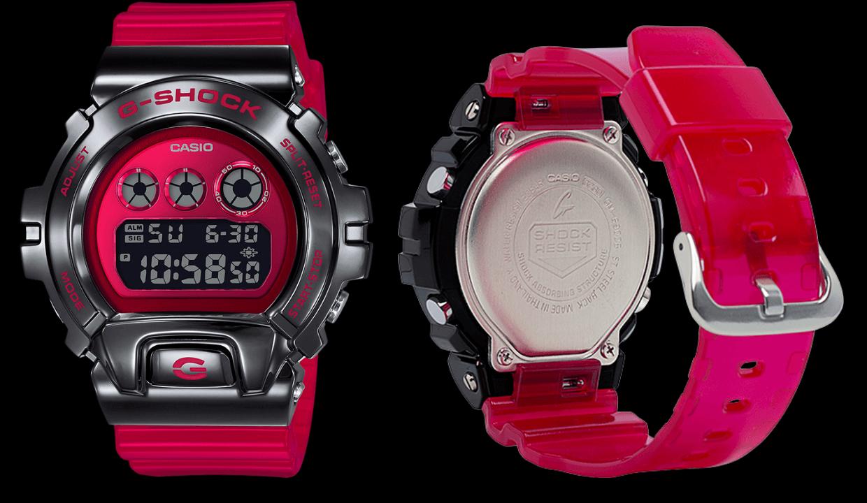 Casio G -Shock Red GM-6900B Watch