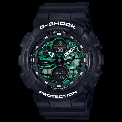 Casio G-Shock Metallic Green GA-140MG-1ADR