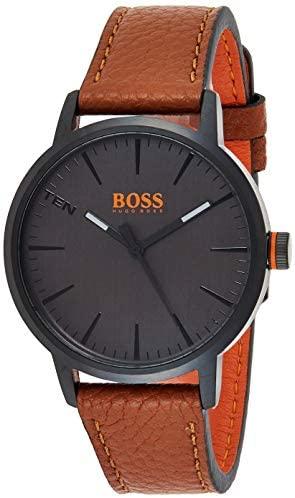 Hugo Boss Orange Men's Quartz Leather Strap 1550054