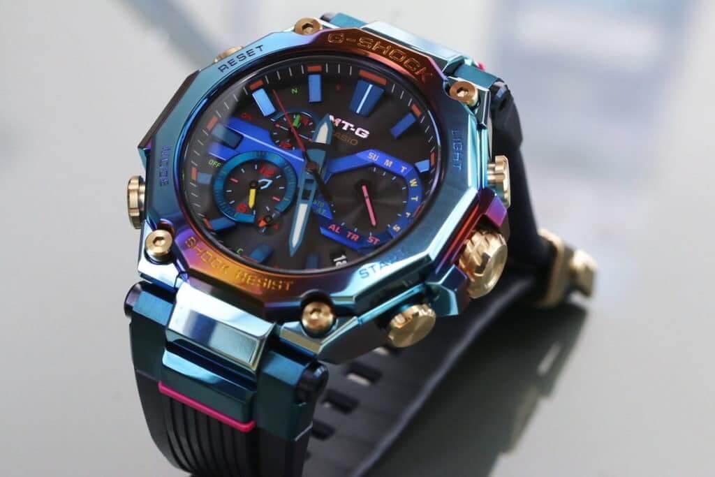 Casio G-Shock MTG-B2000PH-2 Blue Phoenix