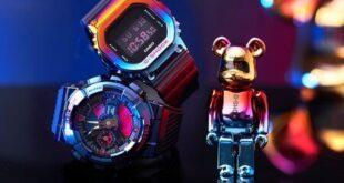 BE@RBRICK x G-Shock GM-110SN-2A & GM-5600SN-1