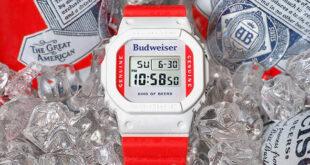 Budweiser x G-Shock DW5600BUD20
