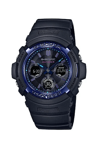 G-Shock AWG-M100SVB-1A
