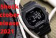 GShock October release 2021