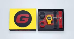G-Shock Color Square Yellow DW-5600REC, DWE-5600R Carbon Core Set, Blue/Green DW-5600RB