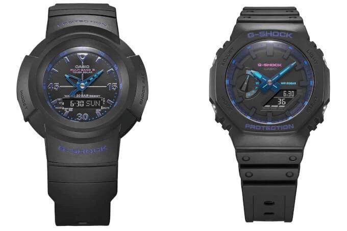 G-Shock Virtual Blue Analog-Digital Series