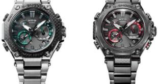 G-Shock MTG-B2000XD-1A and MTG-B2000YBD-1ADR, MTG-B2000 with carbon fiber front exterior